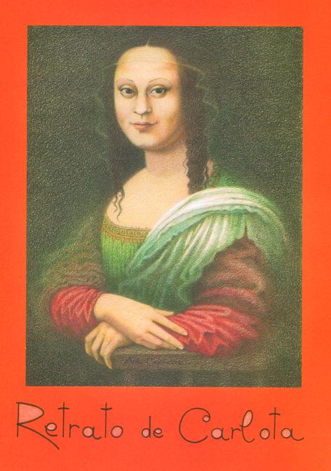 Retrato de Carlota - Portada