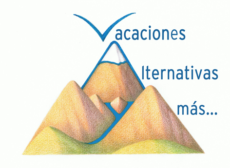 Logotipo Vacaciones Alternativas y Mas